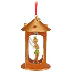 Tinker Bell Light Up Ornament, LED light in lid lights up Disney Fairy Tinker Bell in green leaf dress and shoes aswell as clear glitter wings. Tinkerbell Ornament, Disney Christmas Ornaments, Disney Wishes, Peter Pan And Tinkerbell, Disney Figurines, Disney Fairies, Disney Merchandise, Green Man, Light Up