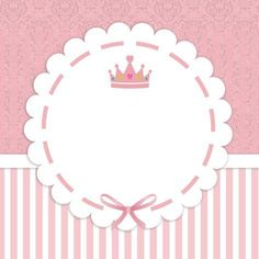 Little Princess Label - Diy Crafts Princess Party, Little Princess, Logo Online Shop, Baby Stickers, Baby Shawer, Baby Album, Ideas Para Fiestas, Baby Scrapbook, Baby Cards