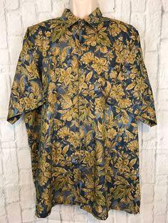 c706a3ef0 Tori Richard Honolulu Multicolored Short Sleeve Hawaiian Shirt Size 2XL |  Clothing, Shoes &