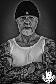 Norbert, #Harley, #Biker, #Zigarren ... #Beard and #Tattoo beim #BeardofGermany ... www.beard-of-germany.de