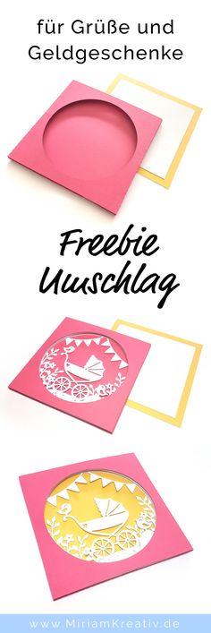 Umschlag für Tunnelkarten - MiriamKreativ.de