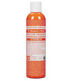 Dr. Bronner's Organic Shikakai Conditioning Hair Rinse. This stuff is amazing! I shampoo with the regular Dr. Bronner's soap then rinse with this and I don't even need to use conditioner anymore.