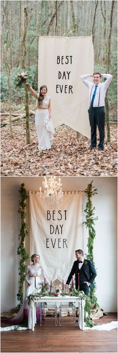 best day ever wedding backdrops #weddingideas #weddingarches #weddingdecor