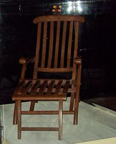 Titanic Deck Chair Plans WoodWorking Projects & Plans