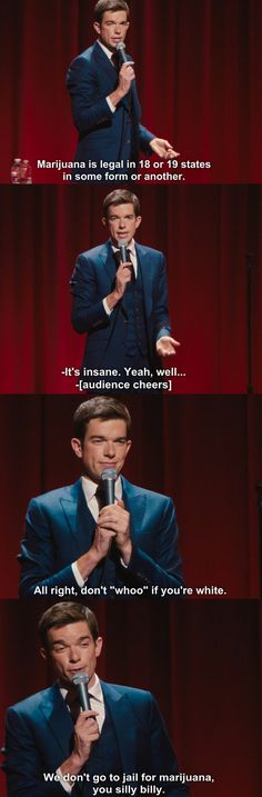 When he talked about pot and then made you think: | Community Post: 15 Times John Mulaney Was The Funniest Man In America