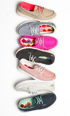Help her put her best foot forward with styles by Sketchers