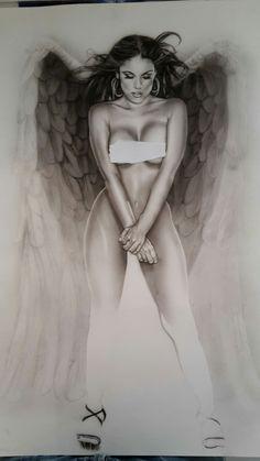 #angel #airbrush