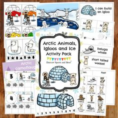 Pre-K can learn about their cold weather favorites with the Arctic Animals, Igloos and Ice Activity Pack! Find it in the shop at https://www.daycarespacesandideas.com/store/p43/Arctic_Animals%2C_Igloos_%26_Ice_Activity_Pack-Digital_Download.html?utm_content=bufferaa9c0&utm_medium=social&utm_source=pinterest.com&utm_campaign=buffer