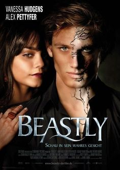 Beastly. Great movie with a message. Seen it once to bad i cant find the movie in store or online..
