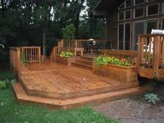 Outdoor deck backyard patio | Deck