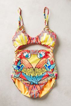 Mara Hoffman Cut-Out Maillot