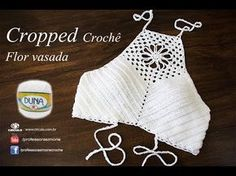 So happy To share this Fashionable Festival Crochet Crop Top step by step Tutorial with you all . Enjoy your Summer and Happy Crochet! Crochet Halter Tops, Bikini Crochet, Crochet Summer Tops, Crochet Crop Top, Crochet Blouse, Scarf Crochet, Top Tejidos A Crochet, Débardeurs Au Crochet, Free Crochet