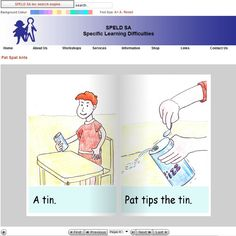 Welcome to Speld(SA) Specific Learning Difficulties Website: download FREE decodable readers for different levels.