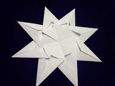 DIY! How can I make an origami window star? - YouTube