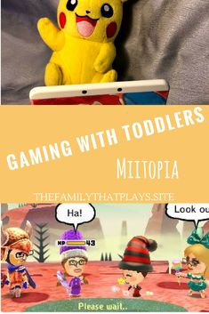 Miitopia: Off We Go on A Wild Family Adventure ⋆ The Family That Plays Toddler Preschool, Toddler Activities, Learning Activities, Parenting Articles, Parenting Hacks, Terrible Twos, Games For Toddlers, Gentle Parenting, Mom Advice