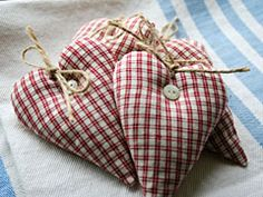 lavender heart double red squares