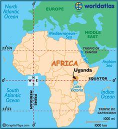 uganda map of africa 11 Best Uganda Maps Images Uganda Kampala Africa uganda map of africa