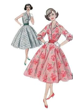 Vintage Simplicity Sewing Pattern 2547 Swing Rockabilly Style