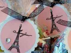 Cute party favor tag