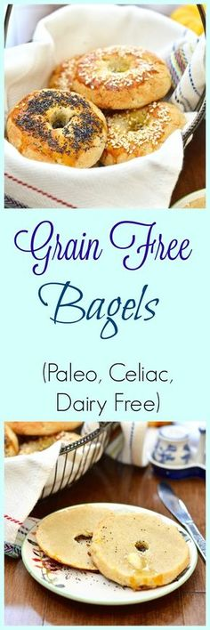 Pure and Simple Nourishment : Grain Free Bagels and Without Grain Cookbook Review
