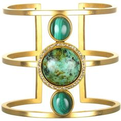 """Siouxsie"" Cuff Bracelet ($198) ❤ liked on Polyvore featuring jewelry, bracelets, hinged cuff bracelet, handcrafted jewellery, antique jewelry, bangle cuff bracelet and cuff jewelry"