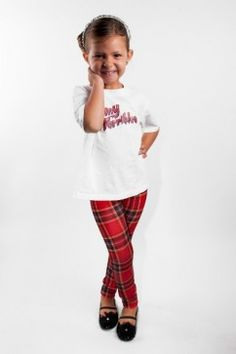 Red Plaid Leggings Avalable at messqueen.com