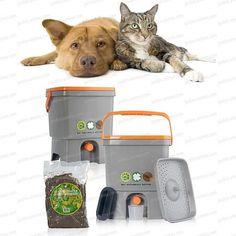 Composteur à déjections Chiens et Chats Bokashi Bokashi, Bio, Pets, Gardens, Dog Cat, Backyard Farming, Stuff Stuff, Composters, Dogs