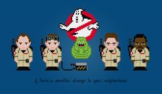 Ghostbusters - PixelPower - Amazing Cross-Stitch Patterns
