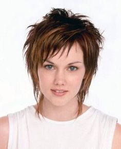 womens short wispy hairstyles - Google Search