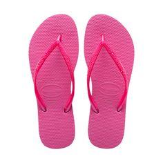 52d07590b 37 38 - Shocking Pink - Women s Slim Thong Flip Flop Sandal