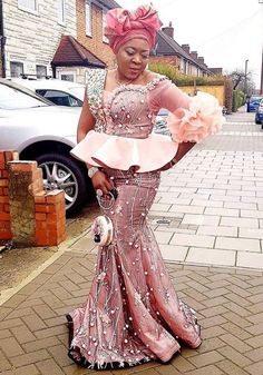 African Wear Dresses, Latest African Fashion Dresses, African Print Fashion, Ankara Fashion, Nigerian Lace Styles, African Lace Styles, African Wedding Attire, African Attire, African Print Jumpsuit