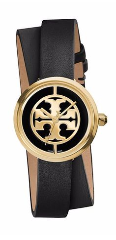 Named after Tory's mother, the Reva is defined by an iconic double-T logo dial | Tory Burch Watches