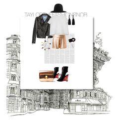 """""""Untitled #512"""" by taylorthefashionsnob ❤ liked on Polyvore featuring Gucci, CÉLINE, Prada, Oscar de la Renta, Chanel and Balenciaga"""