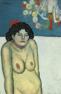 Pablo Picasso | La gommeuse 1901 | Sotheby's