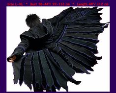 Elf Mantel Patchwork-Mantel Pullover Mantel von 1UNIQUEDESIGN