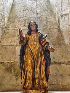 Virgin Mary wooden