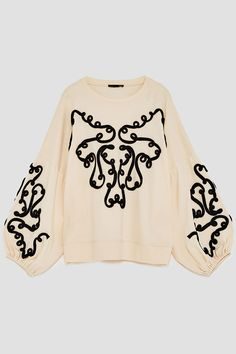 Olivia Palermo knows which sweatshirt you need this fall - KMdress. Olivia Palermo, Sweat Shirt, Look Fashion, Womens Fashion, Zara New, Cycling Shorts, Zara Women, New Wardrobe, Zara Tops