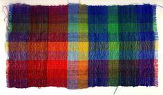 """Gunta Stölzl:  Decorative fabric, """"Mohair"""", 1967  Workshop Zurich 1931-1967"""