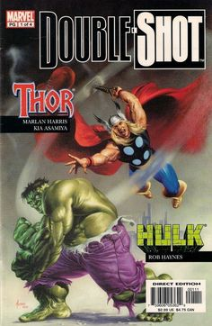 MARVEL DOUBLE SHOT # 1  MARVEL COMICS  THOR / HULK  2003  vf+