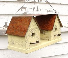French Country Farmhouse Birdhouse