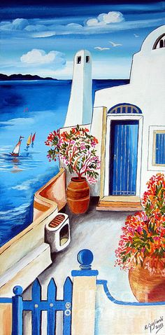 Santorini Terrace