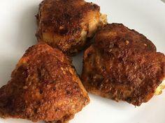 Udka kurczaka pieczone w majonezie i ketchupie Muffin, Pork, Food And Drink, Meat, Dinner, Breakfast, Desserts, Recipes, Blog