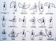 señales de jueces en combate, SKIF, Karate Do