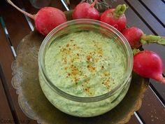 radleavpesto (6) Hummus, Pesto, Pudding, Ethnic Recipes, Desserts, Food, Tailgate Desserts, Deserts, Custard Pudding