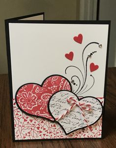 Valentine Card by Cindy Farina - Cards and Paper Crafts at Splitcoaststampers