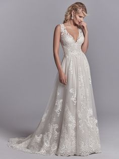 24174 Oliver by Sottero & Midgley. Try this beauty on at Aurora Bridal in Melbourne, FL (321) 254-3880