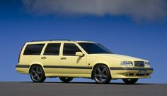 Volvo 850 T5R. Only in this color and these rims