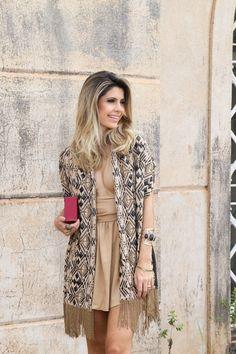 Look – Vestido + Pashmina