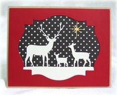 Deer Family: Die 98166 Deer Trio