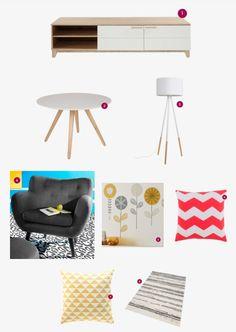Des idées de déco pour décorer votre salon avec moins de 1000 €